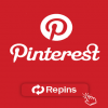 1,000 Pinterest Repins Real